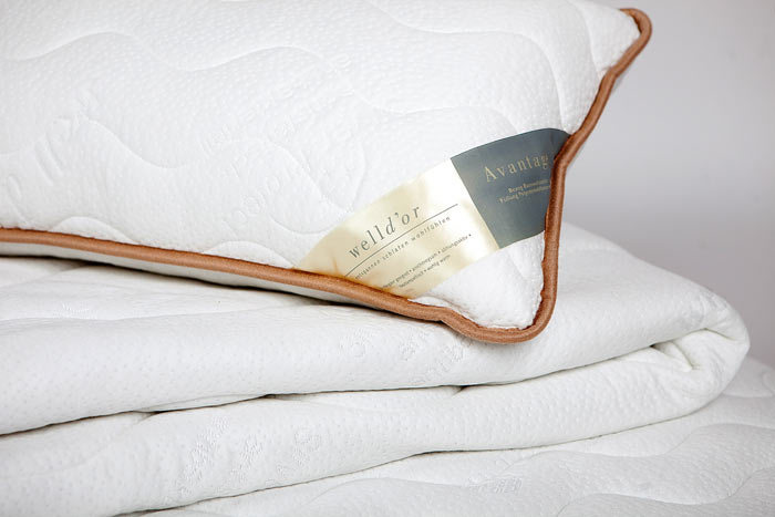 welldor orthop dische kopfkissen tencel klimacontorol silver. Black Bedroom Furniture Sets. Home Design Ideas